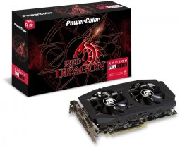 Видеокарта PowerColor Radeon RX 580 Red Dragon 8GB