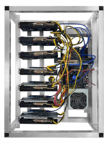 6 GPU MINING RIG NVIDIA 1050Ti 4GB