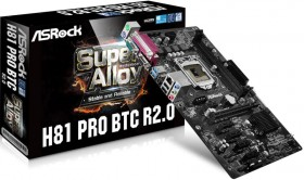 Bundle Asrock H81 Pro BTC+ + CPU Intel G3420