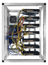 6 GPU MINING RIG AMD RX580 8GB