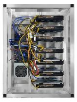 6 GPU MINING RIG AMD RX570  4GB