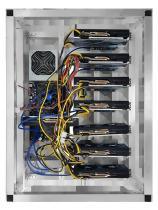 6 GPU MINING RIG NVIDIA 1070Ti 8GB