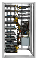 13 GPU MINING RIG AMD RX 5600 XT 6GB