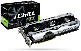 Видеокарта Inno3D GeForce GTX 1070 Ti iChill X3 8GB