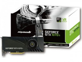 Видеокарта MANLI GeForce GTX 1070 Ti 8GB