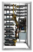 12 GPU MINING RIG NVIDIA 1070Ti 8GB