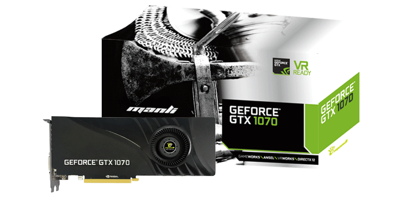 Видеокарта MANLI GeForce GTX 1070 Heatsink with Blower Fan 8GB  - a528d8a1744296685455456b58950ba6.png