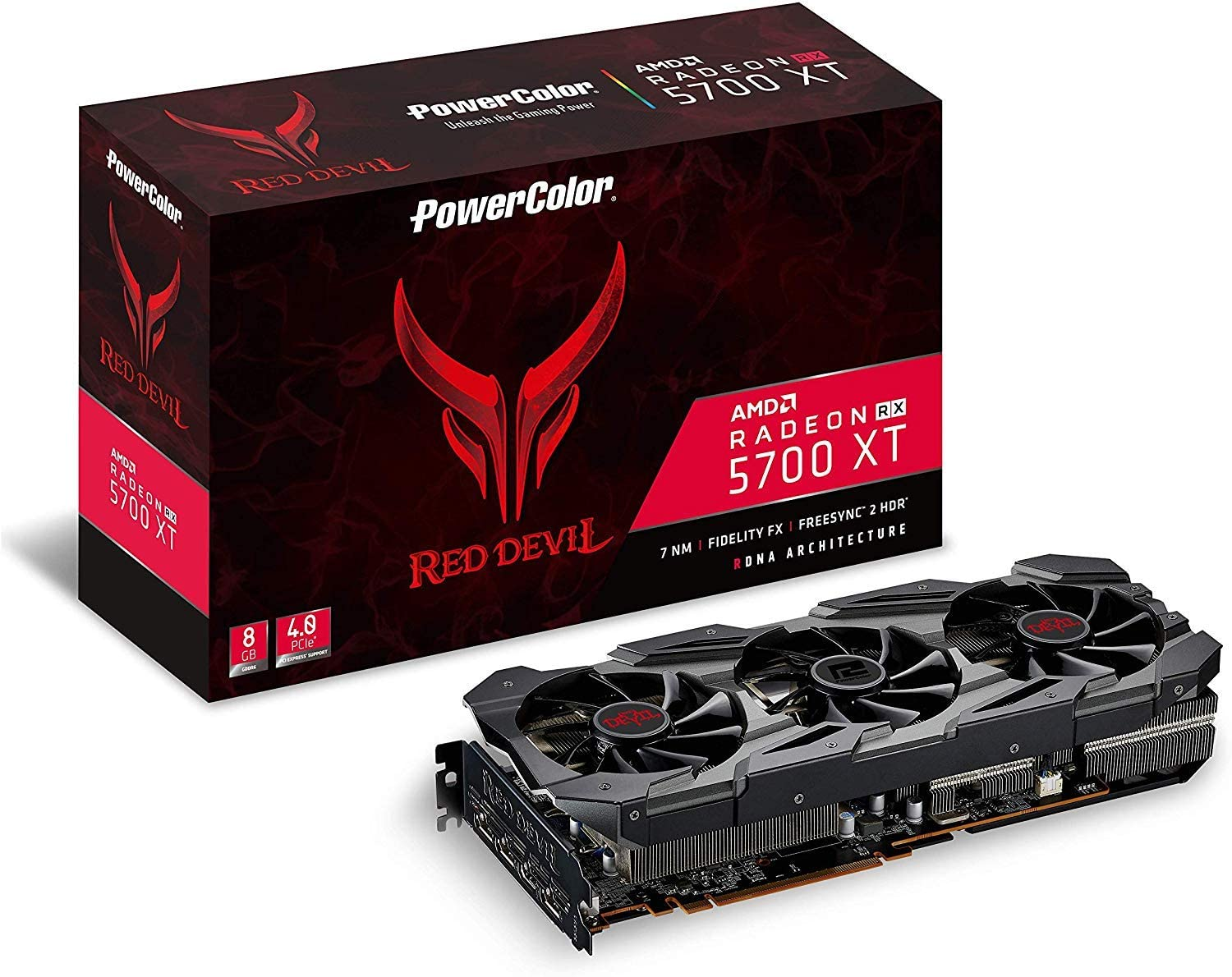 Видеокарта PowerColor Radeon Red Devil RX 5700XT 8GB  - bd9ab1ac501a379748843de59dd0b4c1.jpg